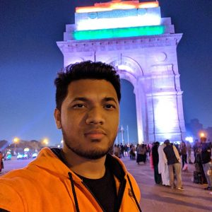 sakib-india-gate